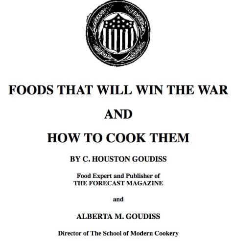 Foods That Will Win the War/Little Americans