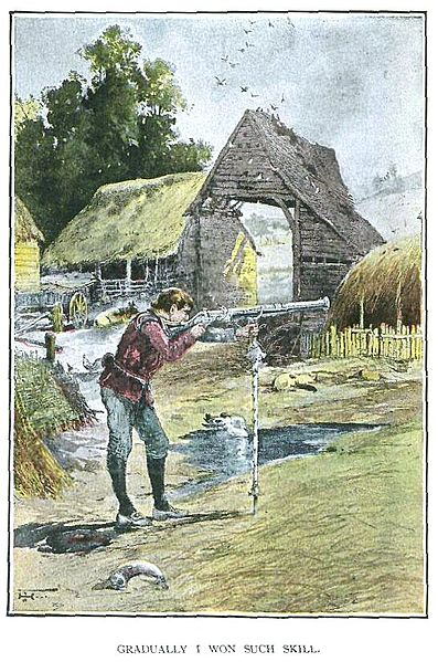 A picture for the book Lorna Doone