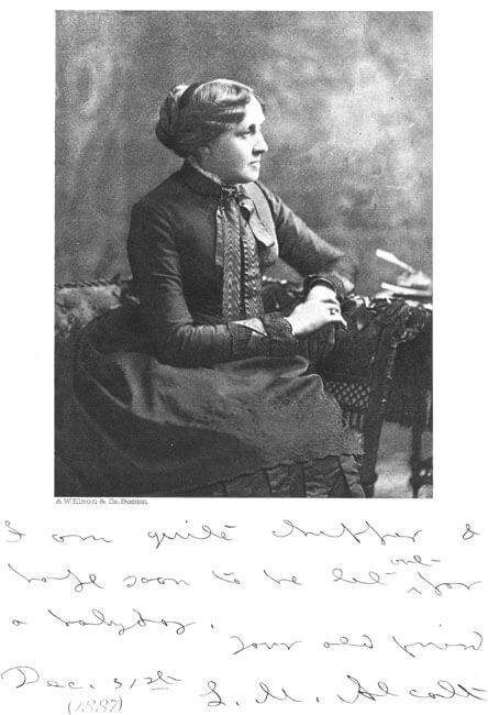 Louisa May Alcott: Her Life, Letters, and Journals dedication