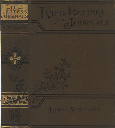 A picture for the book Louisa May Alcott: Her Life, Letters, and Journals