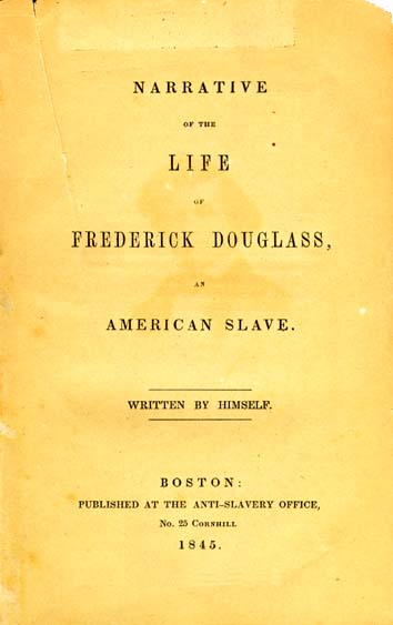 A picture for the book Narrative of the Life of Frederick Douglass, an American Slave