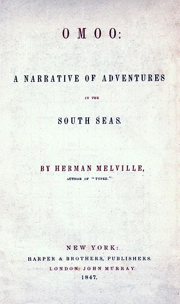 A picture for the book Omoo: A Narrative of Adventures in the South Seas