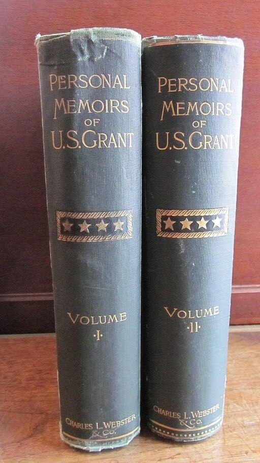 A picture for the book Personal Memoirs of U.S. Grant