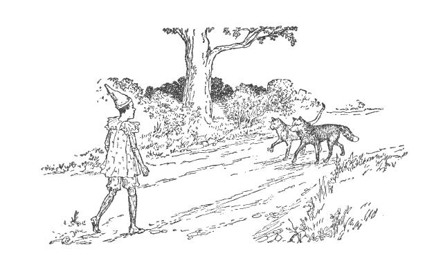 Pinocchio Chapter 18