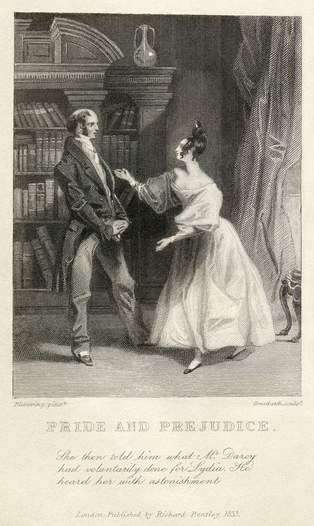 A picture for the book Pride and Prejudice