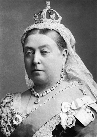 A picture for the book Queen Victoria