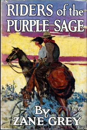 A picture for the book Riders of the Purple Sage