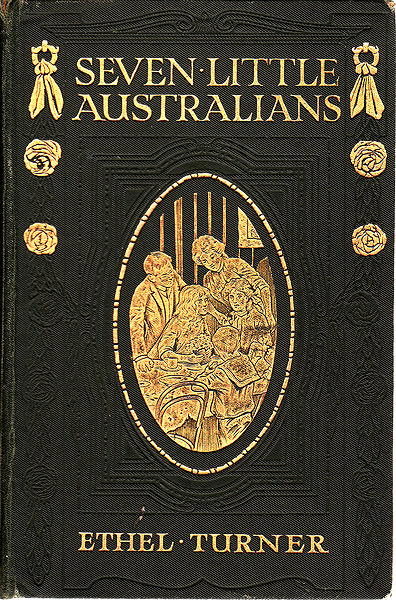 A picture for the book Seven Little Australians