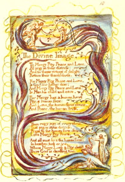 A picture for the book Songs of Innocence