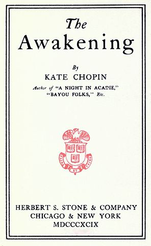 essays on kate chopins the awakening The awakening is a novel by kate chopin, first published in 1899 set in new orleans and on the louisiana gulf coast at the end of the 19th century, the plot centers.