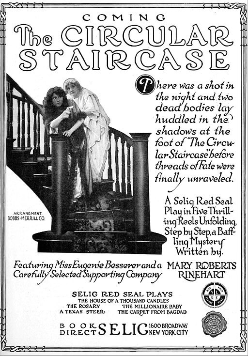 A picture for the book The Circular Staircase