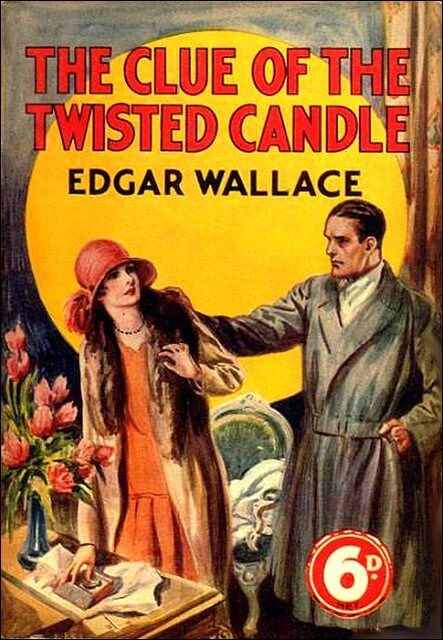 A picture for the book The Clue of the Twisted Candle