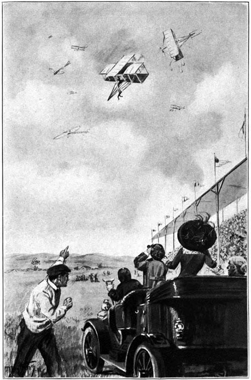 The Flying Girl Orissa in her plane