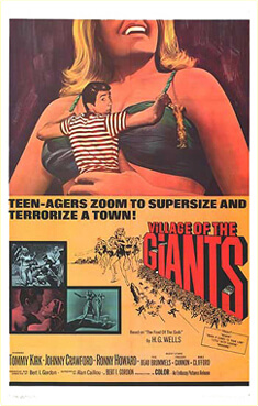 The Food of the Gods, Village of the Giants poster, 1965