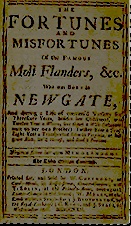 The Fortunes and Misfortunes of Moll Flanders title page