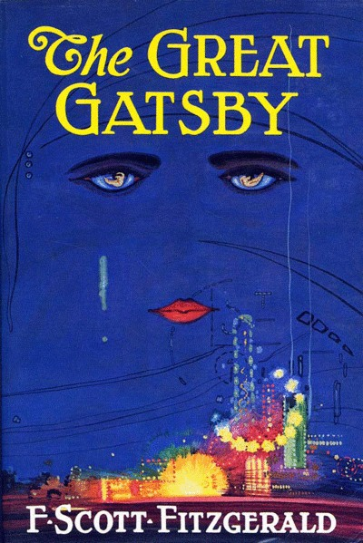 A picture for the book The Great Gatsby