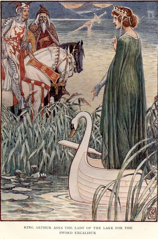 A picture for the book The Lady of the Lake