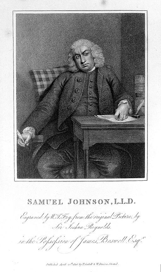 A picture for the book The Life of Samuel Johnson