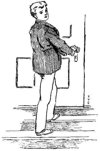 The Master Key Rob at his door