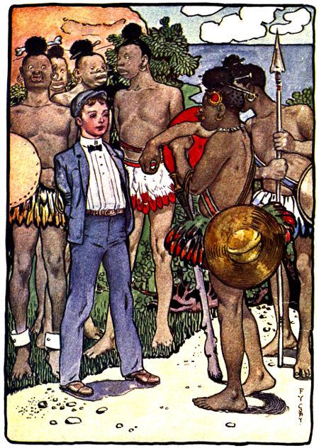 The Master Key Rob with natives