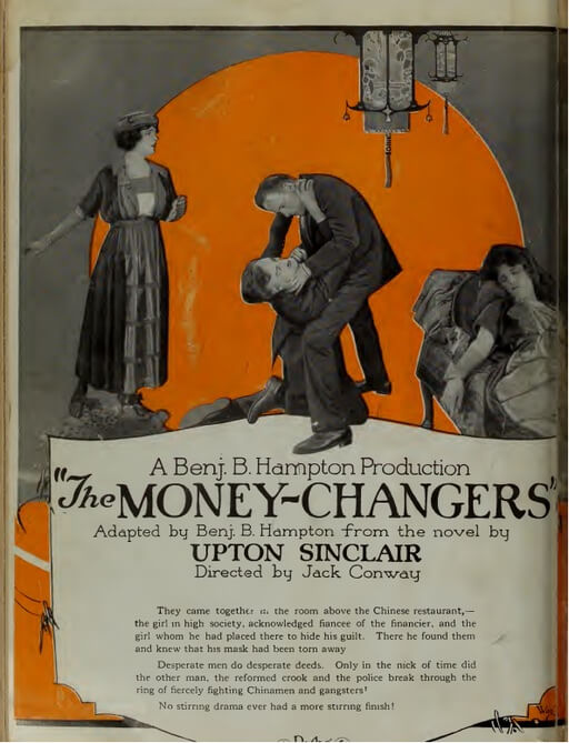 A picture for the book The Moneychangers