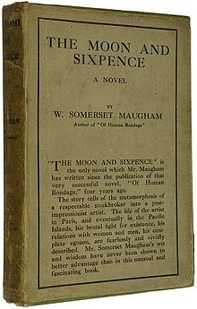 A picture for the book The Moon and Sixpence