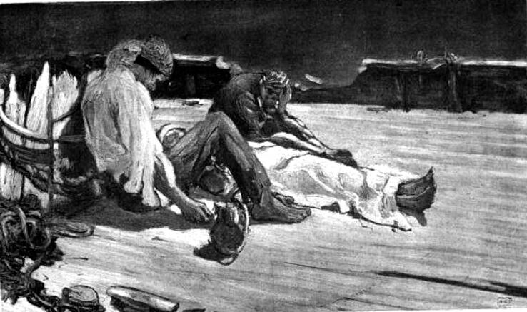 The Narrative of Arthur Gordon Pym, Augustus is dead