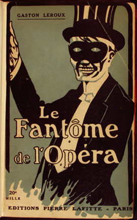 A picture for the book The Phantom of the Opera