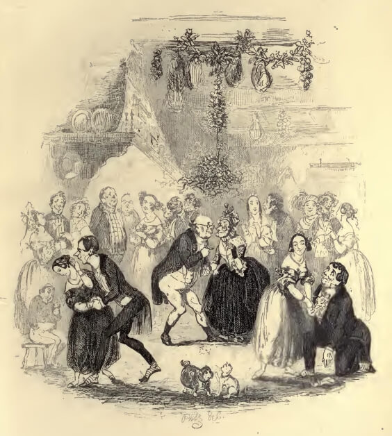 The Pickwick Papers, A Good-Humoured Christmas, Chapter XXVIII