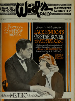 The Star Rover Movie Poster 1920