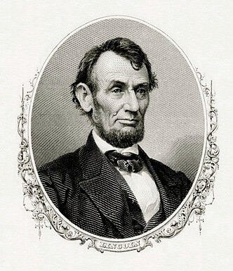 A picture for the book The Story of Abraham Lincoln