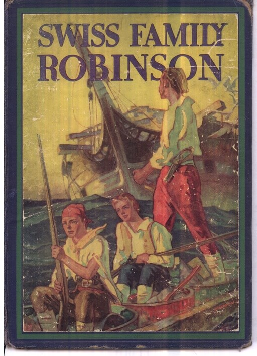 A picture for the book The Swiss Family Robinson
