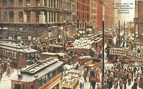 Chicago streetcars