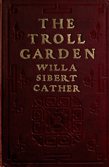 A picture for the book The Troll Garden