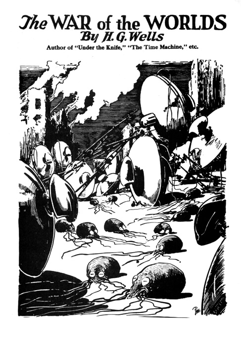 The War of the Worlds, cover