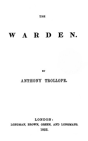 The Warden, frontis
