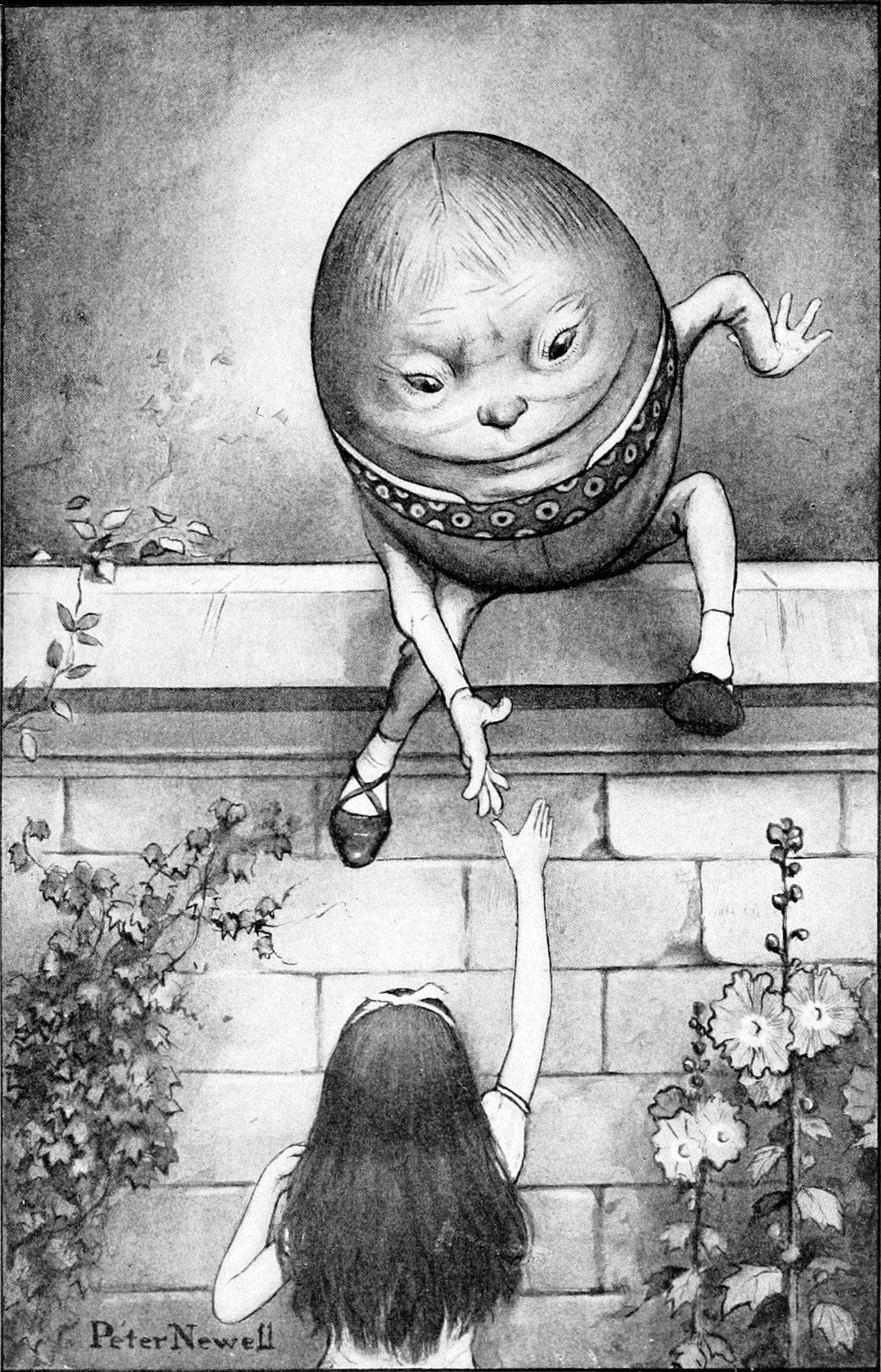 Through the Looking Glass, Humpty Dumpty