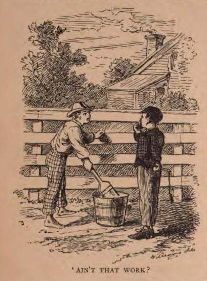 A picture for the book The Adventures of Tom Sawyer