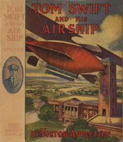 A picture for the book Tom Swift and His Airship