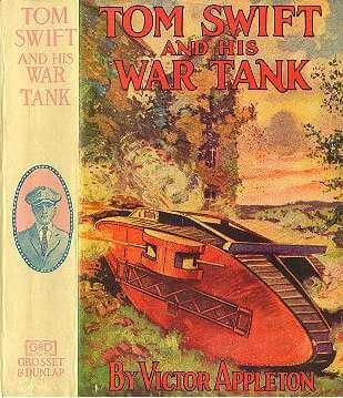 A picture for the book Tom Swift and His War Tank