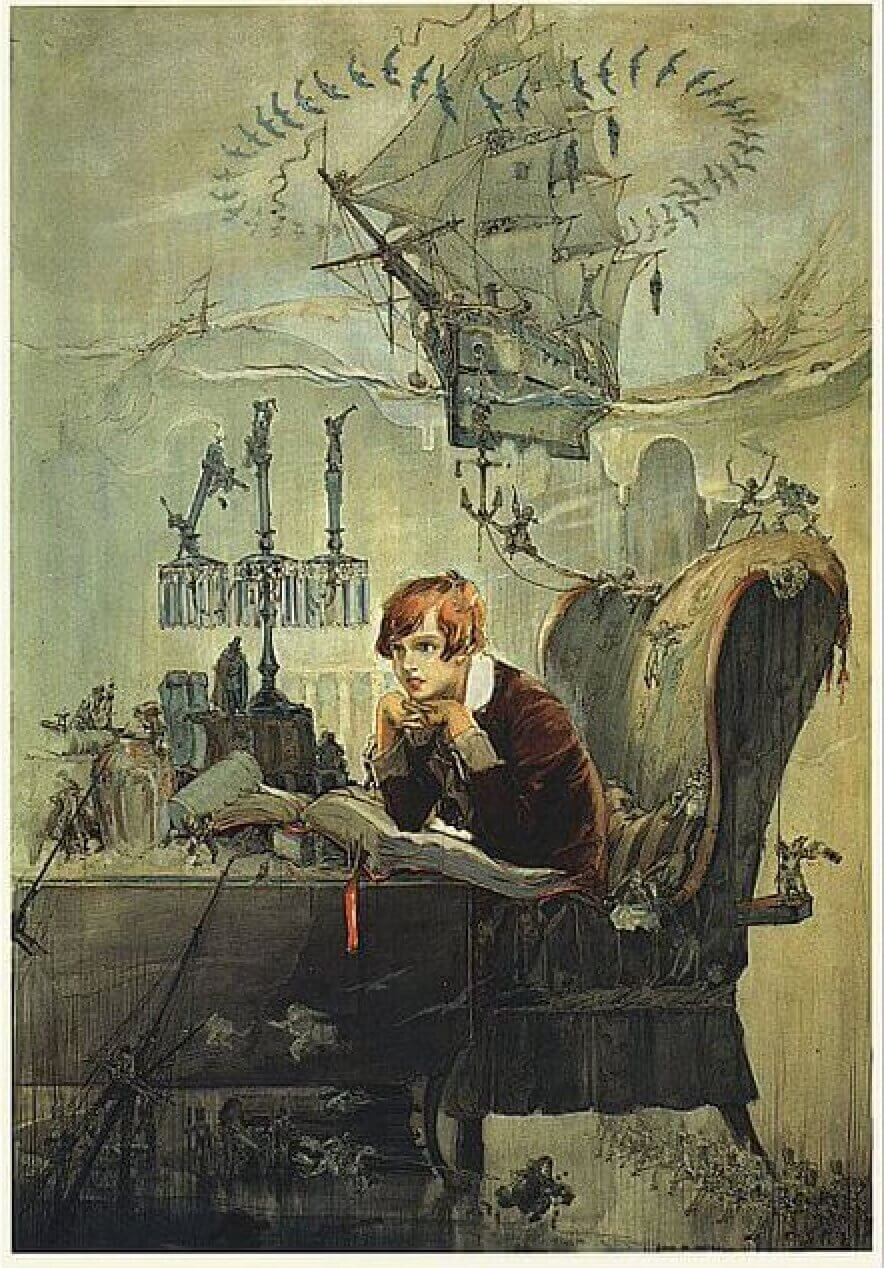 Treasure Island, Jim Hawkins, Dreamer, 1883