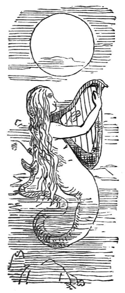 Vanity Fair, Becky Sharpe as the mermaid
