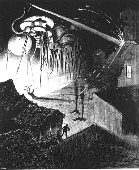 A picture for the book The War of the Worlds