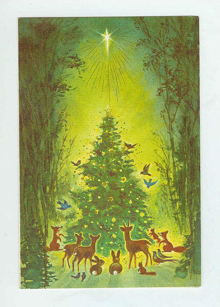 Christmas Cards, Brownie Rust Craft, 1950