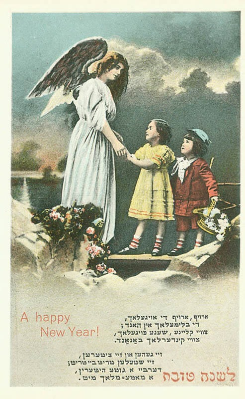 Happy New Year Germany, 1910