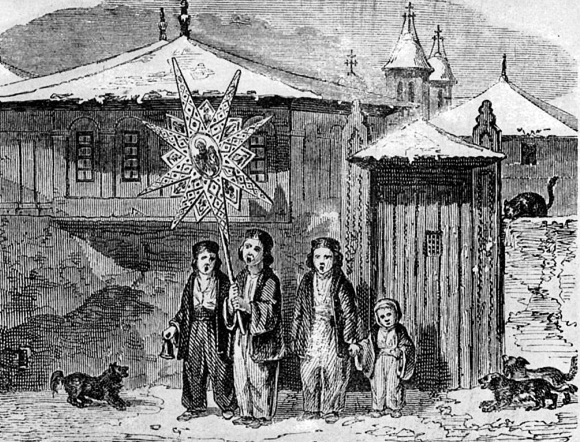 Bucharest Children Singing 1842