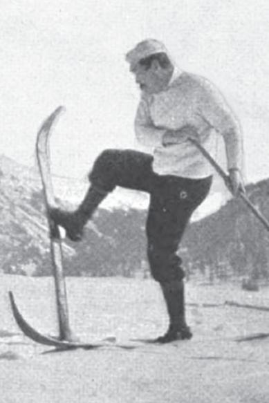 An Alpine Pass on Ski, Doyle turning