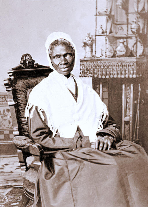 An illustration for the story Sojourner Truth, The Libyan Sybil by the author Harriet Beecher Stowe