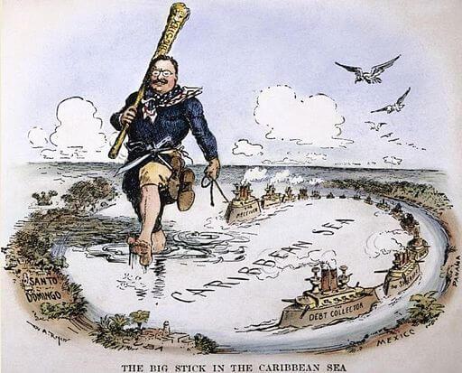 Theodore Roosevelt big stick