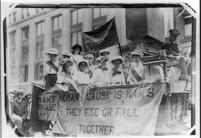 Feminist Literature: Women's Suffrage Movement, Yonkers, 1913